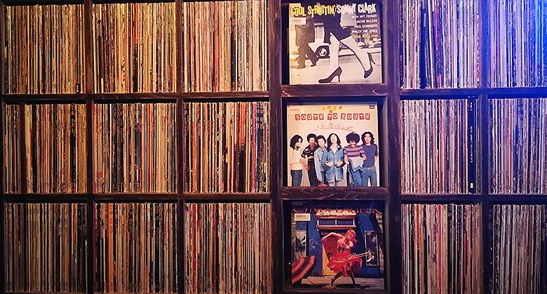 店内にあるレコード01