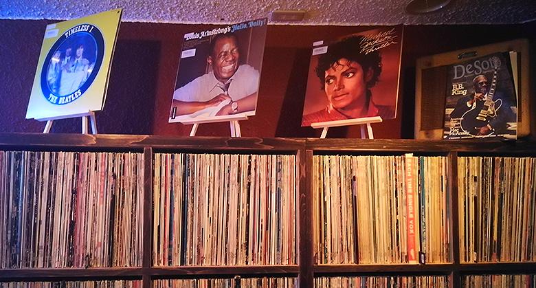 店内にあるレコード02