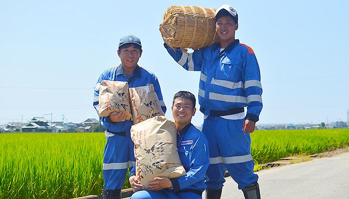 建設会社が農薬不使用・化学肥料不使用で育てた美味しいお米「あぐり米」